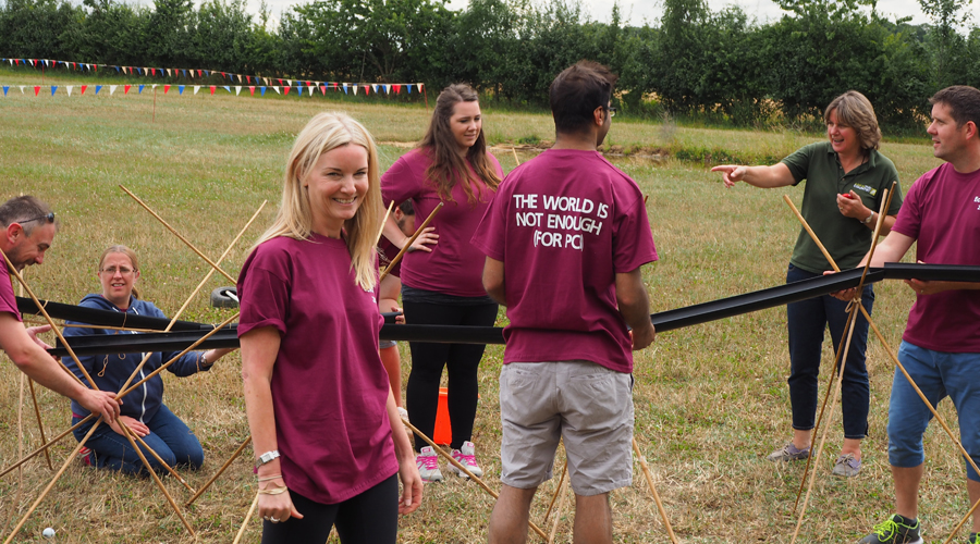 Marble Run At Our Summer Day Out 2015