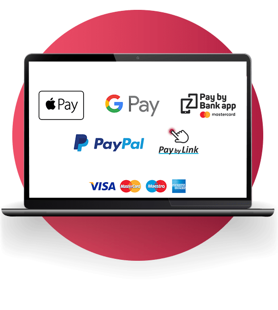 Every payment methods