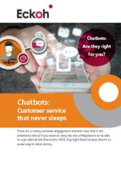 Chatbots - are they right for you?
