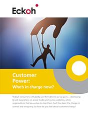 Customer Power - who's in charge?