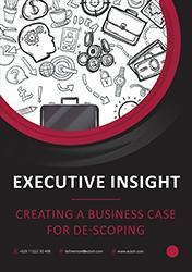 Executive Insight - Creating a business case for de-scoping