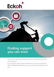 Third Party Support - Finding Contact Center Support you can trust