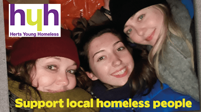 Eckoh chooses Herts Young Homeless as Christmas Charity 2019