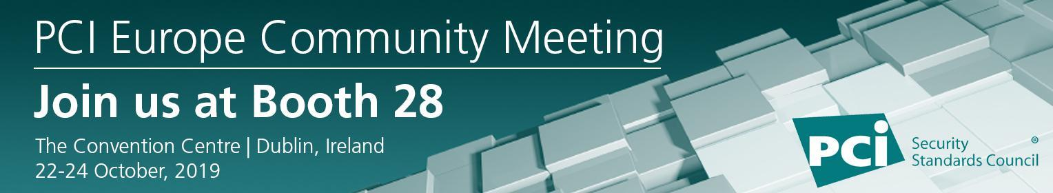 PCI SCC Europe Community Meeting